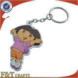 Price 낮은 Gifts Wholesale Custom 3D Soft PVC Keychain (FTPV2702A)