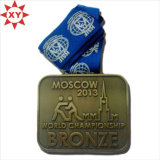 De in het groot Goedkope Geribbelde Universele Medailles van het Email