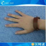 Aktive RFID Wholesale Wristband-Leder für Zugriffssteuerung