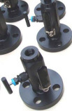 robinet à tournant sphérique métal sur métal de la portée 3PC