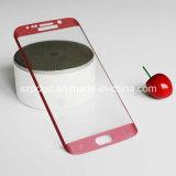 Samsung S7の端3Dのために9hは端の緩和されたガラススクリーンを強くされたガラス曲げた