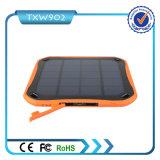 Côté d'énergie solaire de 2 USB 5600 heure-milliampère pour le téléphone mobile