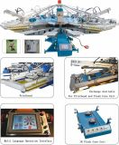 공장 Supplying 8 Colors 10 Stations T-Shirt 또는 Garment/Textile/Fabric/Non-Woven Bag Screen Printer/Screen Printing Machine
