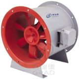 Lärmarmer u. Niederdruck-Abgas-Dampf-Ventilator