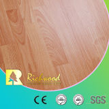 비닐 8.3mm E1 AC3 Embossed Walnut Parquet Laminated Wooden Wood Flooring