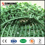 Kleines Plastic Artificial Green Leaves Plant Lattice Fence für Garten