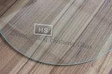 テーブルの上のための5mmの明確な円形の緩和されたガラス