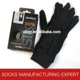 100%の純粋な絹の快適な手袋