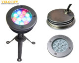 hohe Helligkeit 12W CREE IP68 LED Swimmingpool-Lichter mit Montage-Hülse