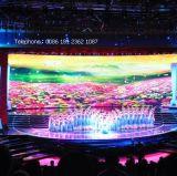 Mietfarbenreiche Bildschirmanzeige-Innenanschlagtafel LED-P4