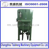 Fuel eléctrico Portable Sandblasting Machine 1500kg -2000kg Loading Abrasive