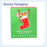 Gift stampato Paper Bag per Christmas