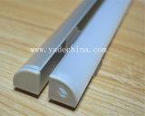 Extrusões de alumínio do diodo emissor de luz do canto/ângulo 90degree para tiras do diodo emissor de luz do cabo flexível