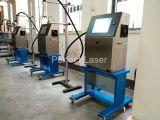 O auto frasco enlata a máquina da codificação da impressora Inkjet do codificador da tâmara do número de série da tubulação do cabo dos sacos