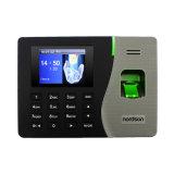 Grabación biométrica del tiempo con el sensor biométrico con el registrador del autoservicio y el software fácil libre de la atención del uso