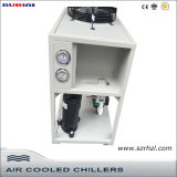 Refrigeradores de 1 água pequenos industriais de refrigeração ar da tonelada do fornecedor chinês