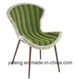 Ротанг мебели сада самомоднейшей конструкции напольный обедая комплект с таблицей & стул установленной персоной 6&8 (YT896-1)