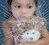 Anti-Explosion 창 유리 안전 스티커 4개 밀 불연성 필름