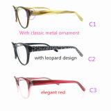 2016 keurde de Klaar Gemaakte Nieuwe Acetaat van het Oogglas Optische Frames voor Dame Ce FDA Geen MOQ goed