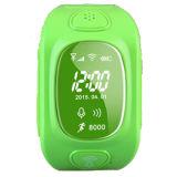 Perseguidor esperto seguro Anti-Perdido Ios Android Wt50-Ez do GPS do relógio novo das crianças mini