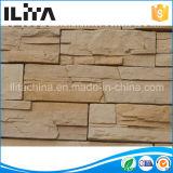 A parede cerâmica telha a pedra de superfície contínua de pedra artificial, o preço barato e a boa qualidade