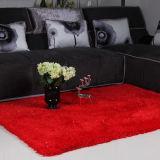 最上質のピンクの絹のカーペット