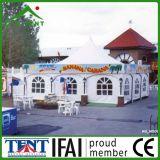 La publicité de l'exposition de Gazebo de chapiteau de pagoda annonçant la tente 5X5m