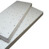 plafond minéral de fibre d'épreuve d'incendie de 19mm (norme de GV)