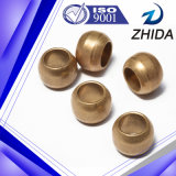 Fornecedor do ouro da bucha de bronze aglomerada da metalurgia de pó