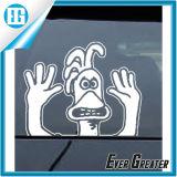 Etiqueta removível pequena do espelho de carro do carro da decoração