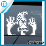 De kleine Verwijderbare Sticker van de Spiegel van de Auto van de Auto van de Decoratie