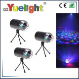 Super Bright 3W RGB LED Coluna Tage Light LED Tri Color Crystal Rotating Ball