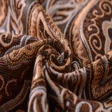 Tela 100% de Chenille de Microfiber del telar jacquar del poliester para el sofá