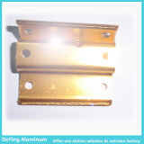Konkurrierendes Aluminum Profile Aluminium Factory Hardware Anodizing in Yellow
