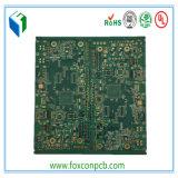 4layerハイテクなインピーダンス制御PCBのボード