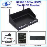 "Skysight New Product RC708 40CH 7 "" HDMI Fpv Monitor und Diversity Rx Compatible mit Fatshark, Immersion RC, Boscam"