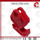 Verrouillage en nylon facile à utiliser de disjoncteur utilisé avec le cadenas