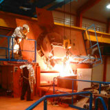 Four de fonte en aluminium direct d'admission de la vente 200kg de fabrication