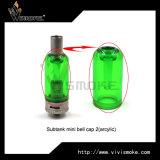 Del rimontaggio del tubo di vetro mini Bell stile variopinto) 2 acrilici della protezione di Subtank (