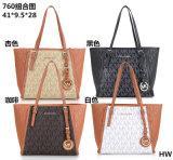 질 패션 디자이너 PU Mk 여자 지갑 끈달린 가방 핸드백