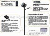 Lámpara de calle solar aprobada de la ISO CQC del CE