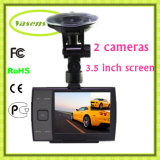 Автомобиля управлять безопасная система HD удваивает камера объектива