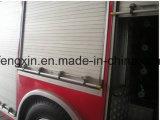 Roulement en aluminium vers le haut de porte pour le camion de pompiers