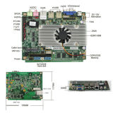 Intel原子D525/N550/N450 CPU (D525)を搭載する高いEffciency産業Mainboard