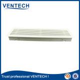 Grade de ar linear para o uso da ventilação