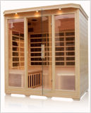 CE Approved 4 Eprson Far Infrared Sauna di ETL con All Carbon Heatrs