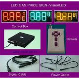 OutdoorのためのRGB Display Gasoline Price LED Sign