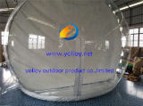 Bóveda inflable de la burbuja de la Navidad de la talla humana