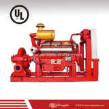 Bomba de agua centrífuga diesel y eléctrica de la lucha contra el fuego de la circulación (UL enumerada)