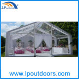 Tent van de Markttent van de Gebeurtenissen van het Huwelijk van de Partij van het Dak van de luxe de Transparante Duidelijke